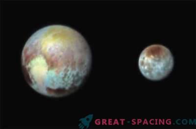 New Horizons hat ein Farbfoto von Pluto und Charon gemacht