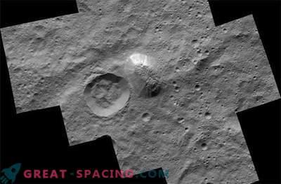 Der mystische Berg taucht in einem beeindruckenden Foto von Ceres auf.