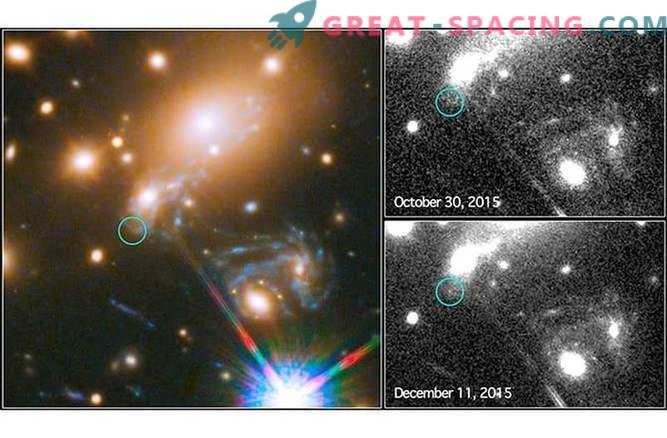 Supernova Einsteins Kreuz schlägt zurück