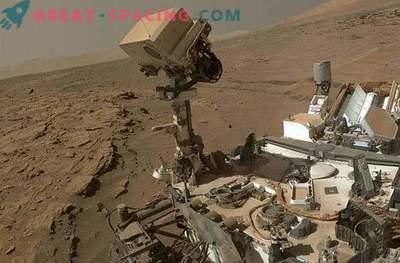 Einen neuen selfie Curiosity auf dem Mars