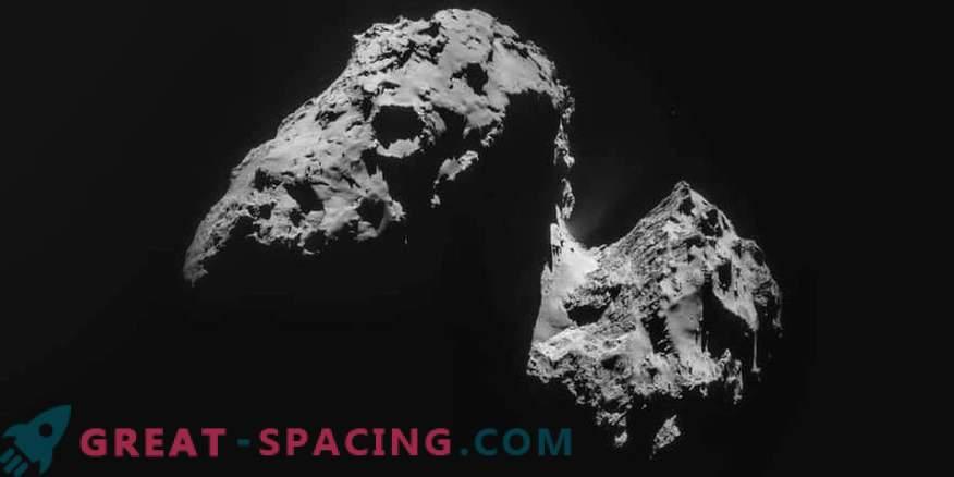 Woraus besteht der Komet 67P / Churyumov-Gerasimenko?