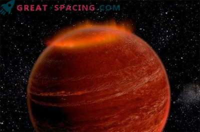 Außerhalb unseres Sonnensystems wurde eine riesige Aurora entdeckt.