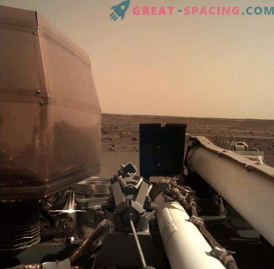 InSight bewundert die Schönheit des Mars