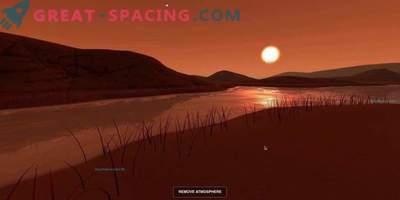 Begeben Sie sich mit der NASA auf eine virtuelle Reise in eine neue Welt.