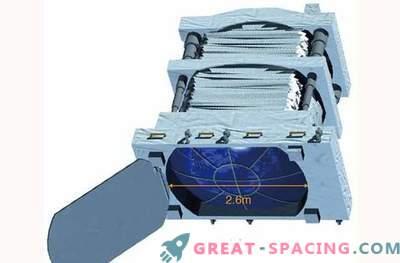 An der Orbitalstation kann eine Laserkanone installiert werden, um Weltraummüll zu zerstören.