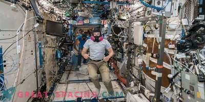 Notfalltraining auf der ISS