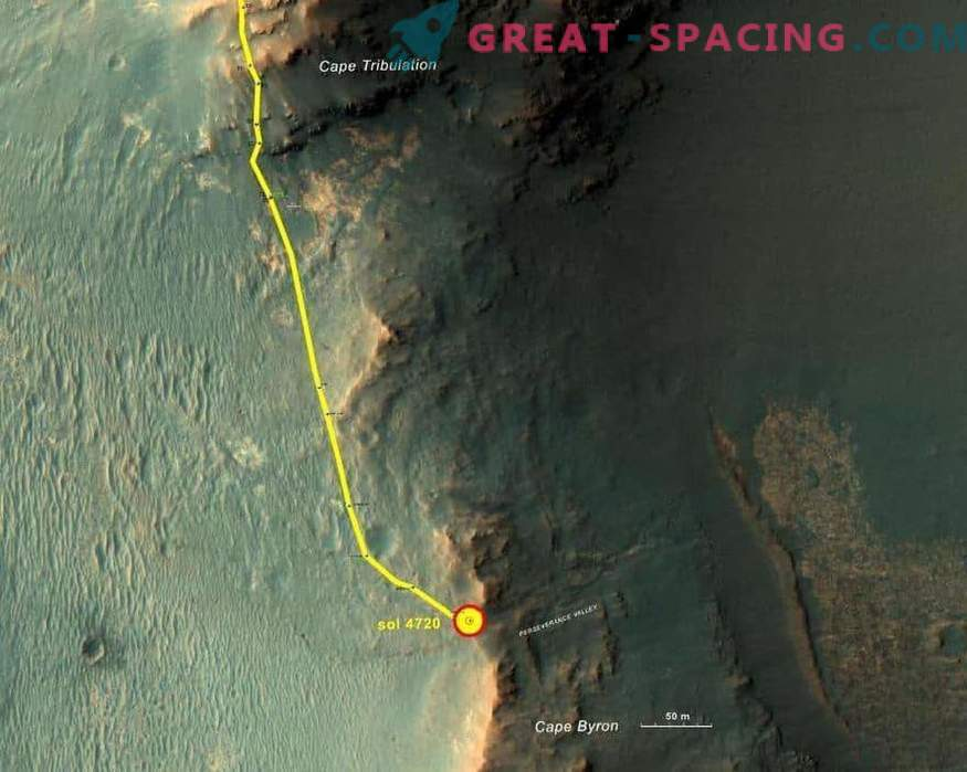 Opportunity untersucht die Ursprünge des alten Mars-Tals