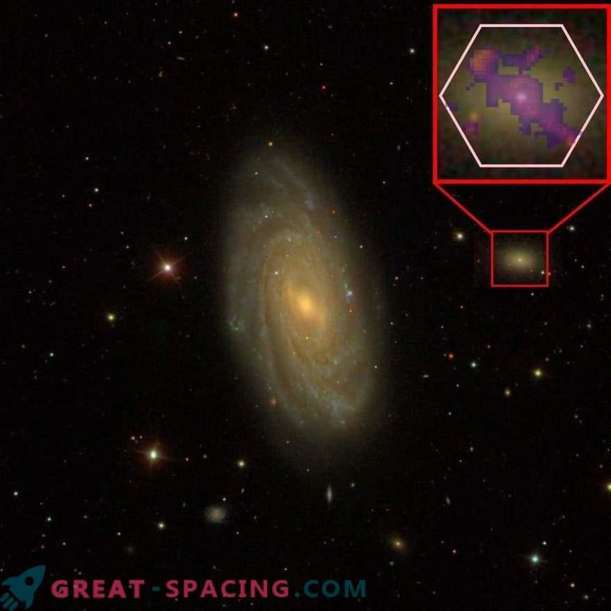 Das Schwarze Loch enthüllt die Geheimnisse der Entwicklung kleiner Galaxien