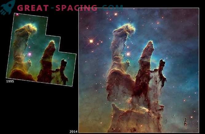 Die Evolution der Hubble-Weltraumbilder