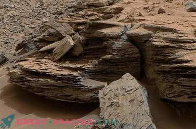 Found another proof of the existence of an ancient lake on Mars