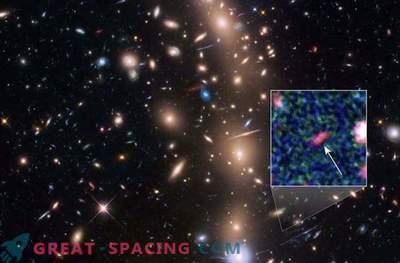 Astronomen entdeckten die am weitesten entfernte Galaxie