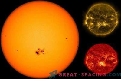 Die Gefahr eines Blitzes: Ein monströser Sonnenfleck dreht sich zur Erde.