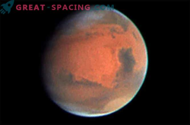 Mars-Konfrontation: Enger Kontakt mit dem Roten Planeten