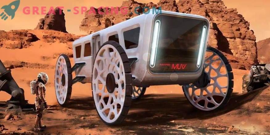 Großartige Projekte demonstrieren die Zukunft der Kolonialisierung des Mars