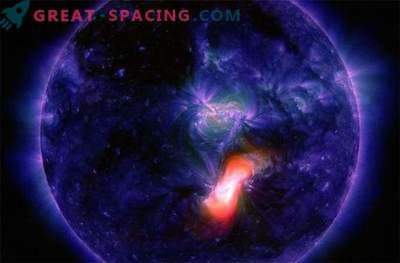 Die Sonne sendet Blitze zur Erde: Neujahrssturm?