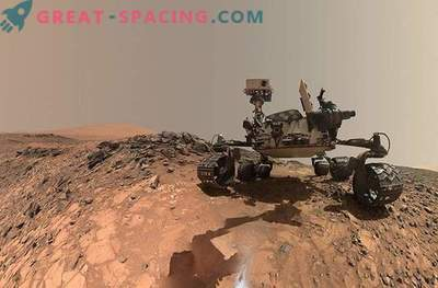 Episches erstes Jahr der Neugier auf dem Mars: Fotos