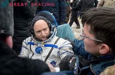 Obama wird über Astronauten sprechen, die ein Jahr im Weltraum verbracht haben