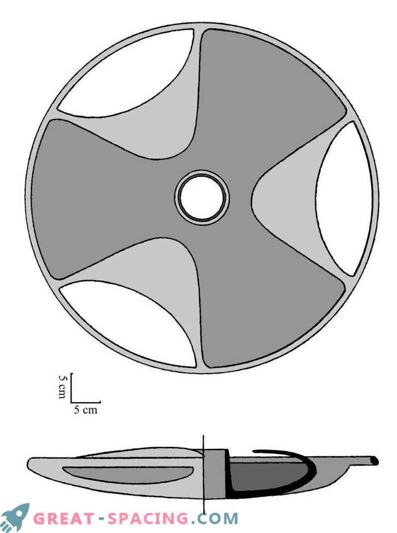 Ufologen glauben, dass die Sabu-Scheibe ein uraltes Modell einer fliegenden Untertasse sein könnte.