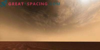Mars-Express explorando nubes de gran altitud