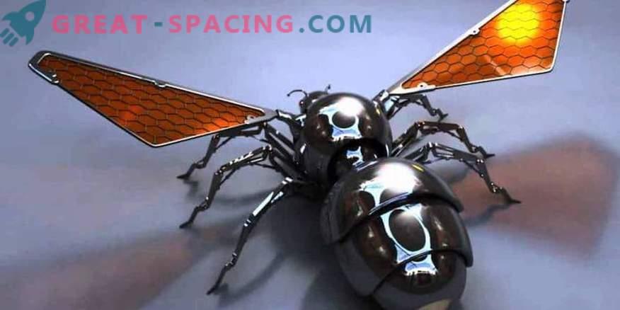 Sie können Robenbienen zum Mars senden.