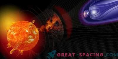Sonnenstürme können eine elektrische Ladung