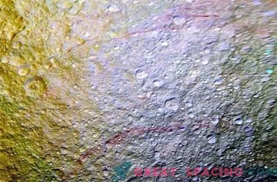 Woher kommen die roten Bögen auf Tethys?