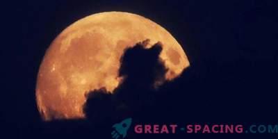 Als das erste Foto des Mondes erschien