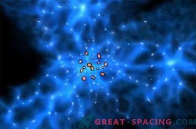 Die ältesten im Leichentuch der schwarzen Materie gefundenen Galaxien