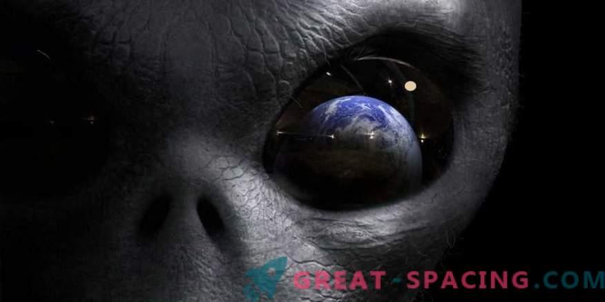 Können außerirdische Wesen Sterne benutzen, um mit Erdlingen zu kommunizieren?
