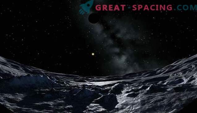 Plutos Atmosphäre bildet einen Schweif wie ein Komet.