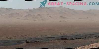 Die Aussicht auf die Reise vom Marsrover