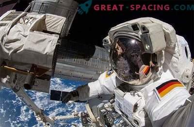Astronauten bei der Arbeit: Astronauten machten erstaunliche Fotos