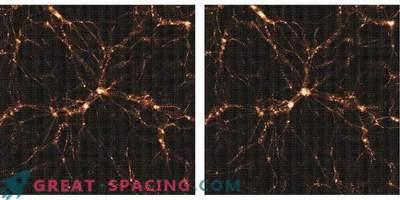 Neue dreidimensionale Karte der Dunklen Materie im Universum.