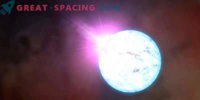 Ein Neutronenstern mit einem starken Magnetfeld erzeugt einen Strahl?