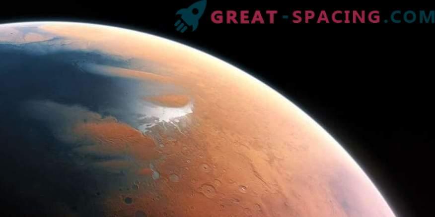 Meteoriten enthüllen die Geschichte des Marsklimas