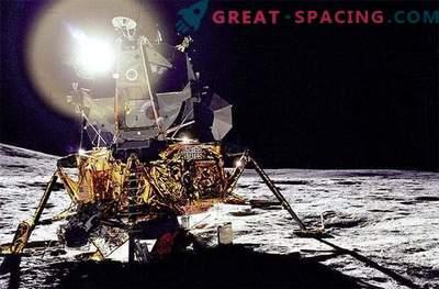 Landung von Apollo - 14 zum Mond. Vergessene Fotos