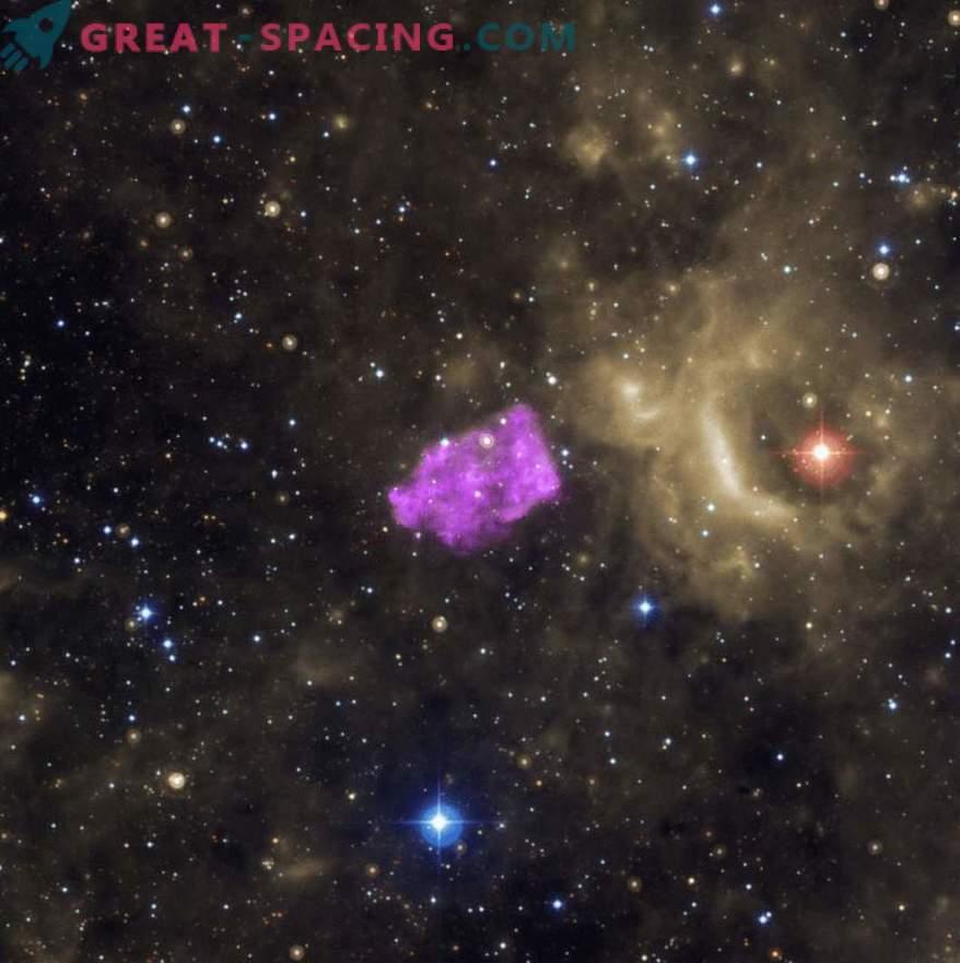 Ungewöhnliche Überraschungen durch die Explosion einiger Supernovae