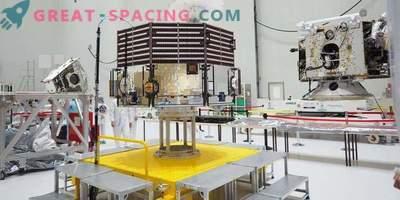 BepiColombo am Weltraumbahnhof ausgepackt