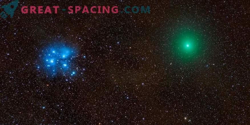 Komet, Meteor, Nebel und Plejaden in einem epischen Foto