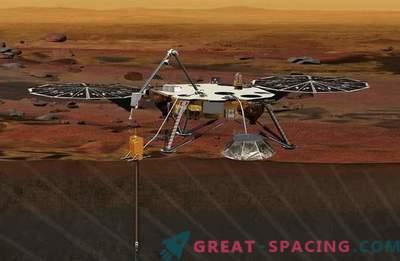 Die Mission auf dem Mars wird den Boden durchbohren, um