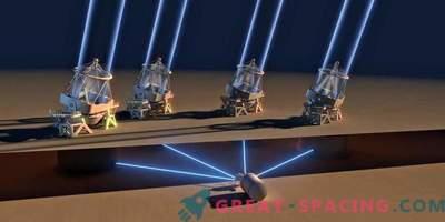 VLT aktiviert zum ersten Mal 4 Teleskope
