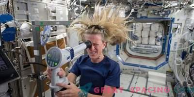 Warum verschlechtert sich die Sicht der Astronauten?