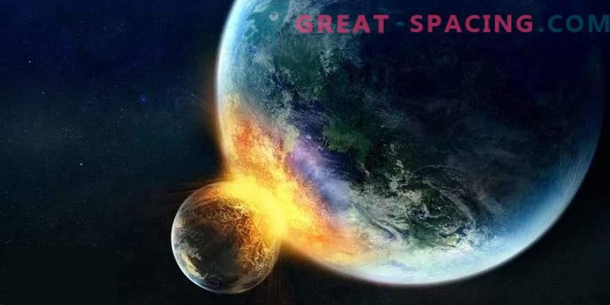 Was passiert, wenn der Mond auf die Erde trifft?