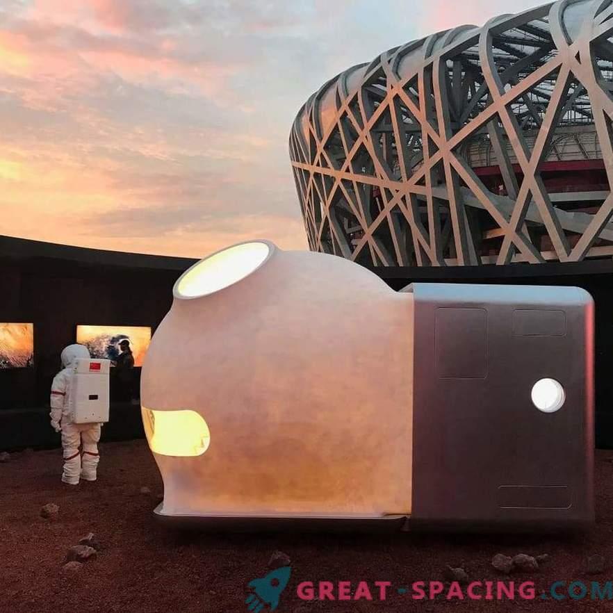 Gemütliche Mini-Häuser für Marsforscher