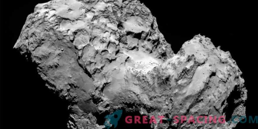 Sauerstoffsekretion von Kometen