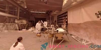 Tour durch das Testlabor des Marsapparates