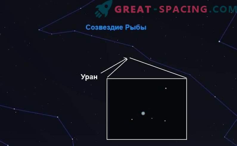 Auf der Suche nach Uranus - dem azurblauen Riesen des Sonnensystems