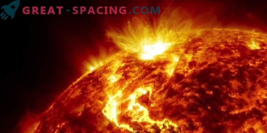 Sonnenenergieteilchen und -strahlen