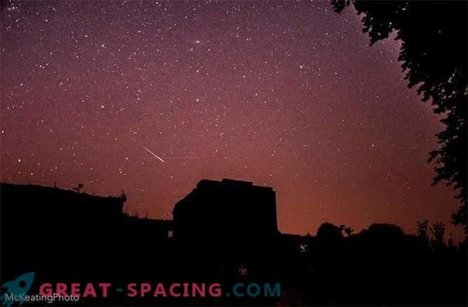 Weltraumfeuerwerk: Meteorschauer der Perseiden 2015