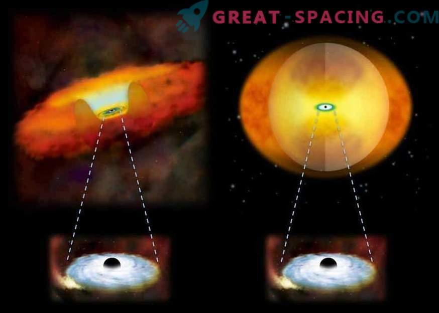 Galaktische Fusion und Schwarze Löcher